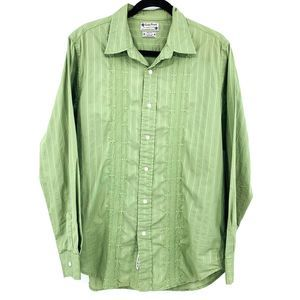 Lucky Brand Embroidered Button Down Shirt
